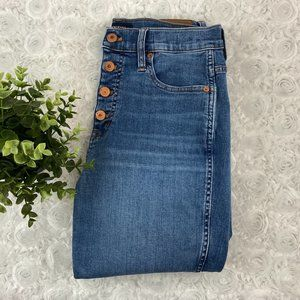 J.Crew | Button Fly Vintage Straight Jeans